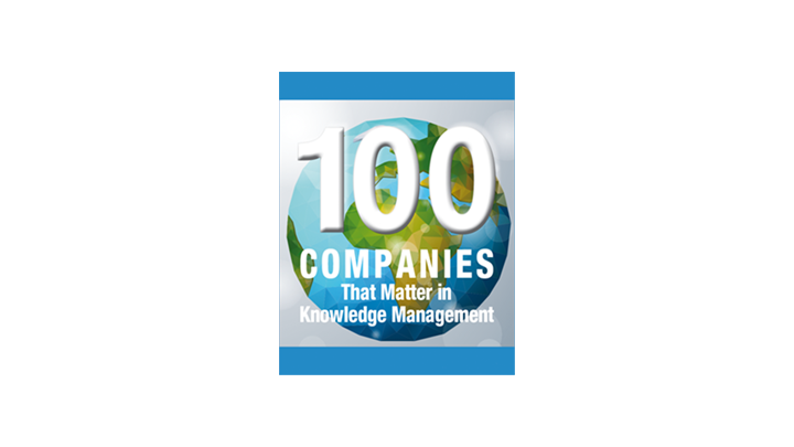 100 Companies That Matter in Knowledge Management 2016