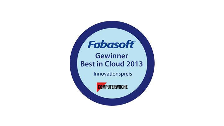"Fabasoft wins ""Best in Cloud"" Award"