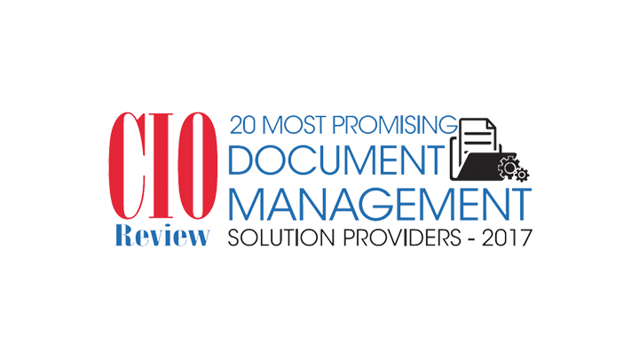 "Cio Review Fabasoft among the ""20 Most Promising DMS Providers"""