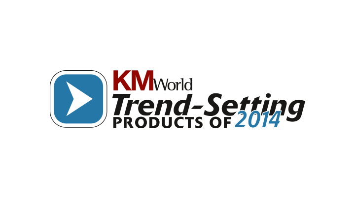 "KM World Mindbreeze InSpire is ""Trend-Setting Product 2014"""