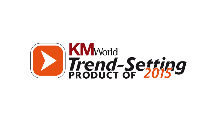 "KM World Mindbreeze InSite is ""Trend-Setting Product 2015"""