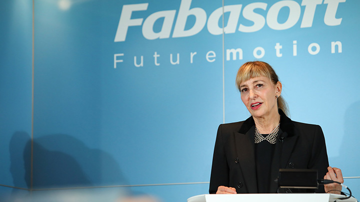 Baroness Susan Greenfield, scientist, writer, broadcaster and member of the House of Lords at the Fabasoft Futuremotion Summit 2018 in Vienna
