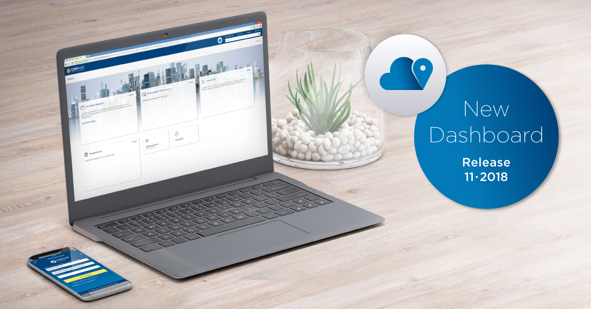Your new Fabasoft Cloud dashboard – clear, convenient and personal
