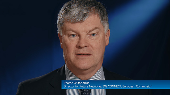 Pearse O'Donohue, Dircetor for Future Networks, DG CONNECT, European Commission