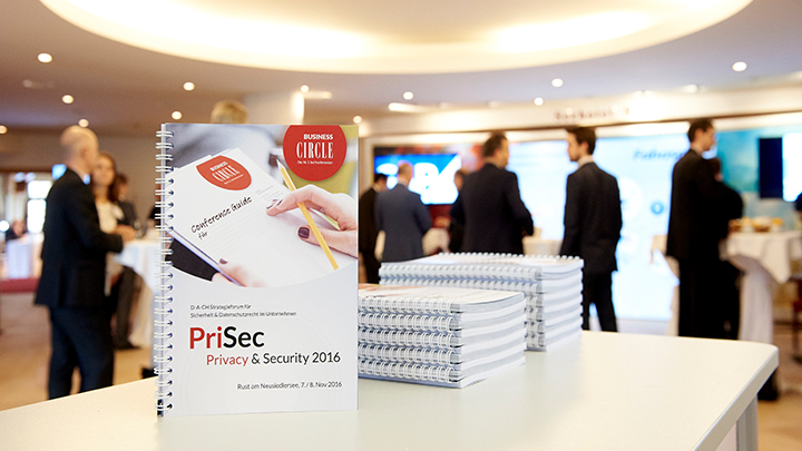 PriSec - Privacy & Security 2016 logo