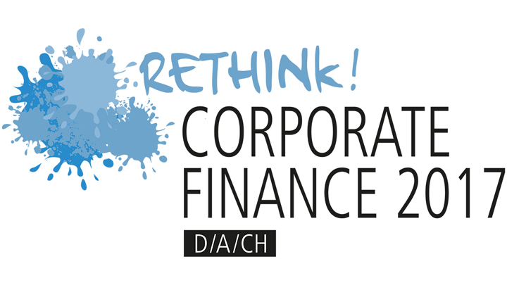 Rethink! Corporate Finance 2017 Logo