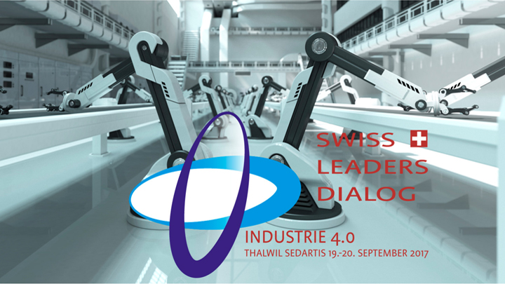 Swiss Leaders Dialog Industrie 4.0 Logo