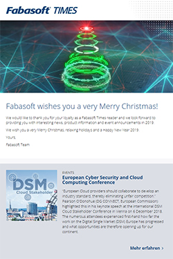 Fabasoft wishes you a very Merry Christmas!