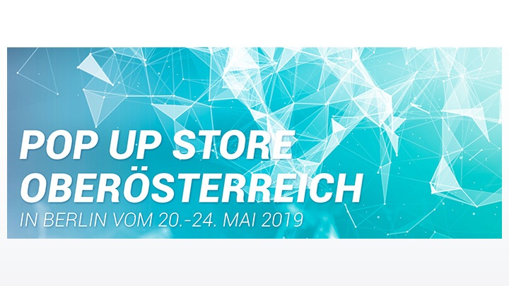 Headergrafik zum Pop Up Store Oberösterreich in Berlin