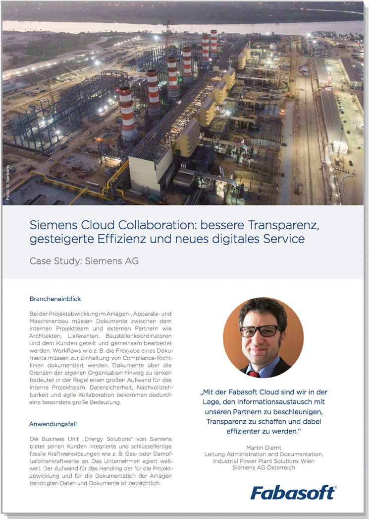 Case Study Siemens Cloud Collaboration