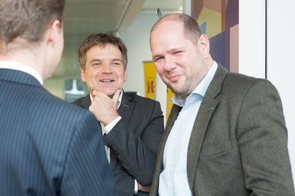 Networking beim Fabasoft TechSalon am 29.04.2014