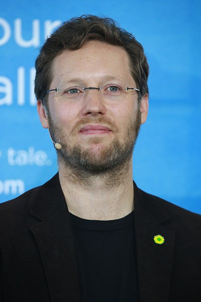 Jan Philipp Albrecht beim Fabasoft TechSalon am 23.09.2014