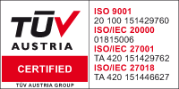 ISO 27018 Certification